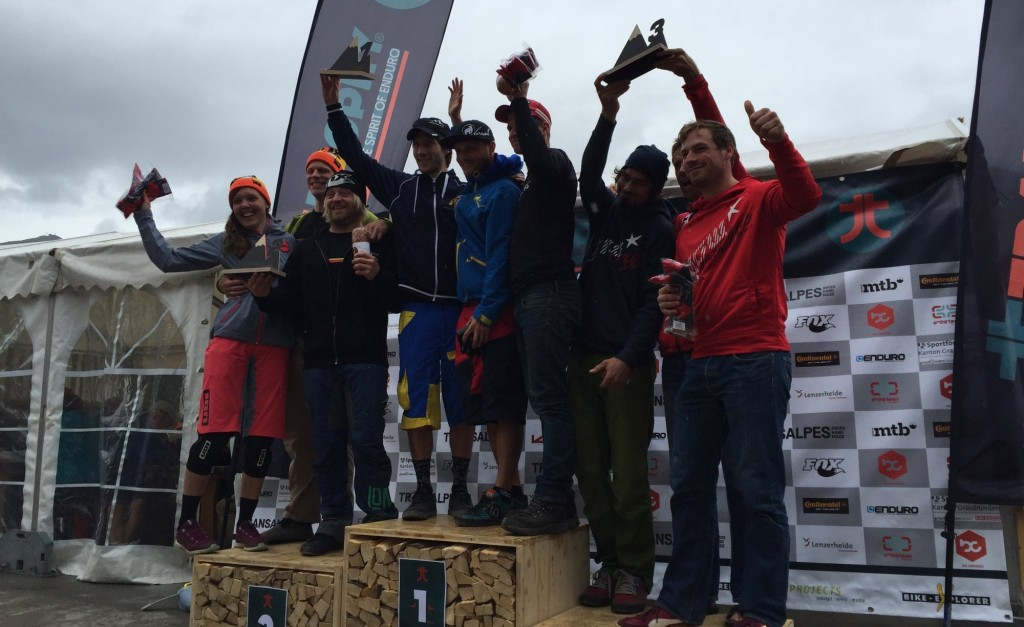 TrailTrophy Lenzerheide - Team-Podium