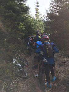 CET Raon l'Etape 2017 - Schlange vor Stage 1